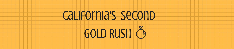 California's Second Gold Rush