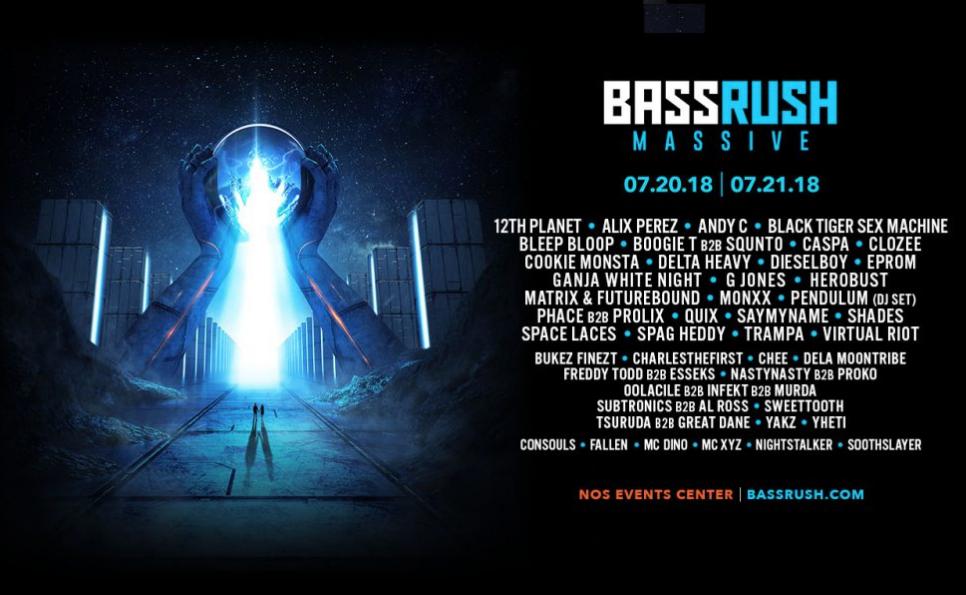 Bass rush Massive