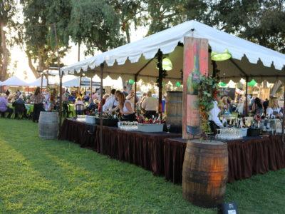 WFUS 2019 wine setup 2